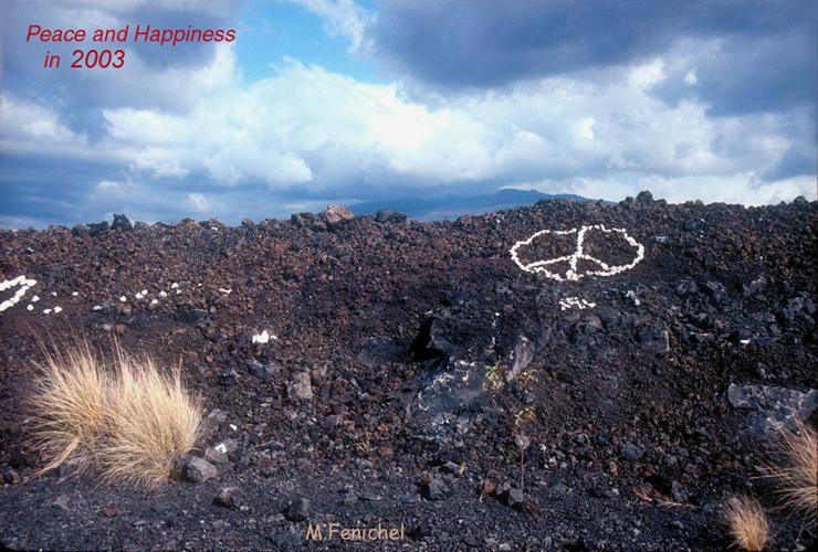 [Volcanic Peace Message]