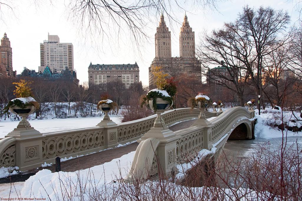 [Bow Bridge in Snow]