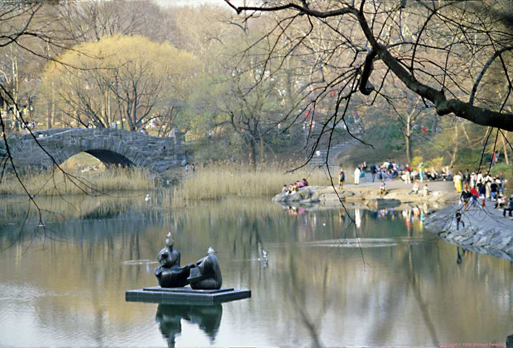 [Central Park with Henry Moore]