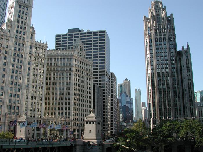 [Wrigley Building & Tribune Tower]