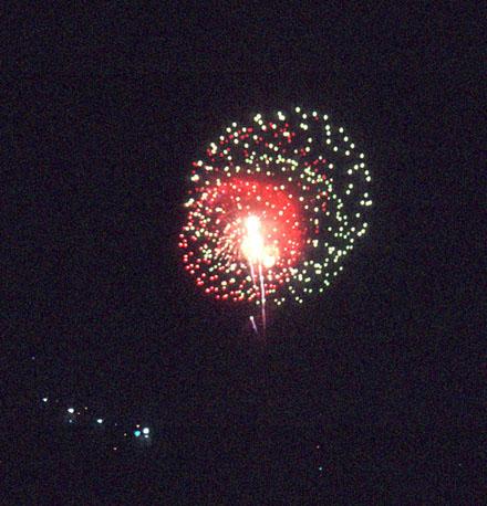[Millennium Eve - Central Park Fireworks]