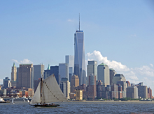 [Freedom Tower from Water]