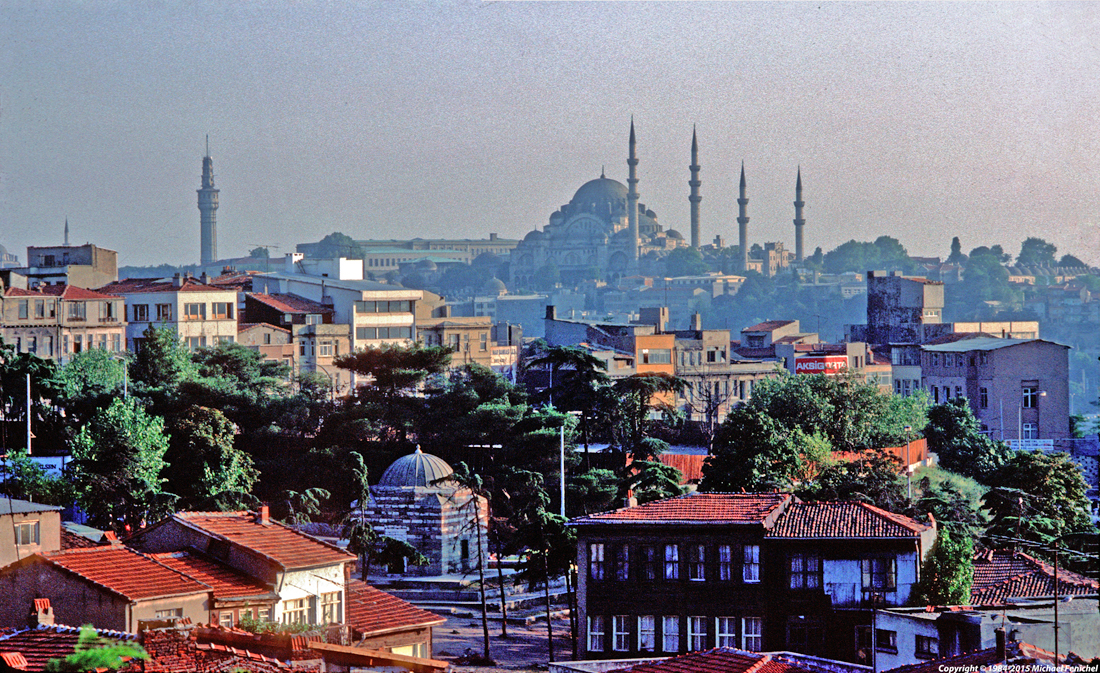 [ Süleymaniye Mosk - Istanbul ]