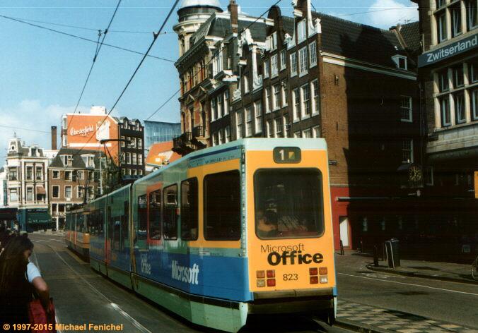 [#1 Tram in Amsterdam]