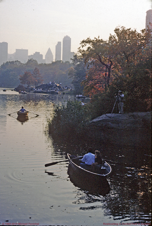 [Rowboating in Central Park]