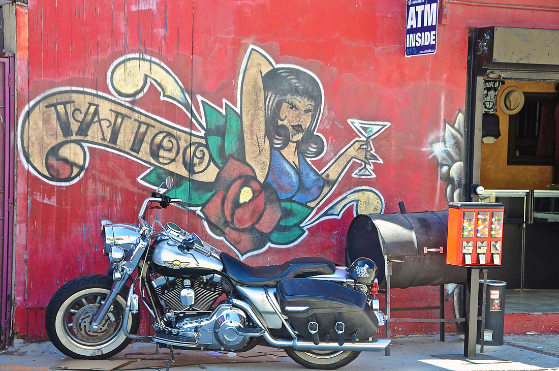 Bike and Tattoo Parlor