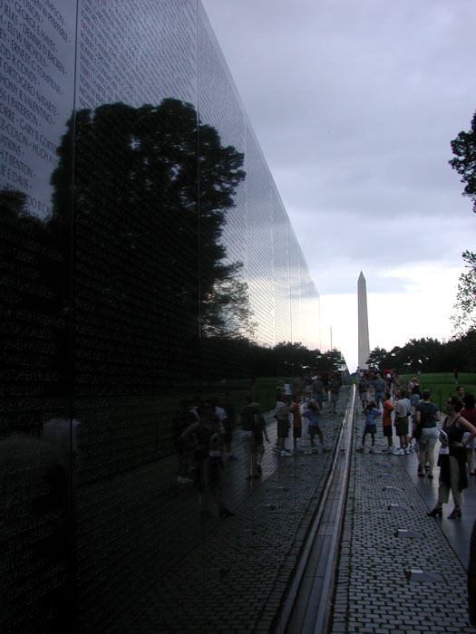 [Vietnam Veterans Memorial]