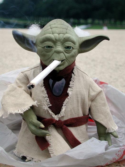 [Yoda in Washington]