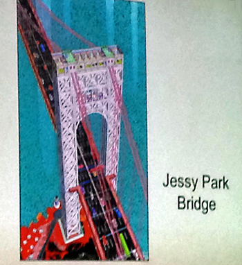 Bridge - Painting by Jessy Park