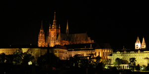 [Prague Castle at Night