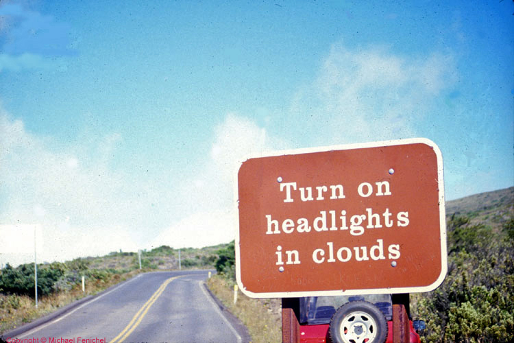 [Headlights in Clouds]