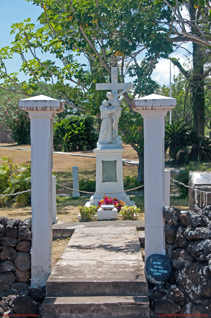 Grave of Mother Marriane Cope - Kalaupapa]