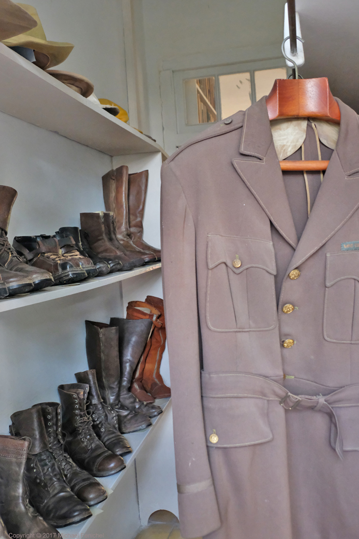 Hemingway's Closet: Boots and Uniform