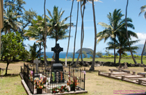 [Grave of Father Damien]