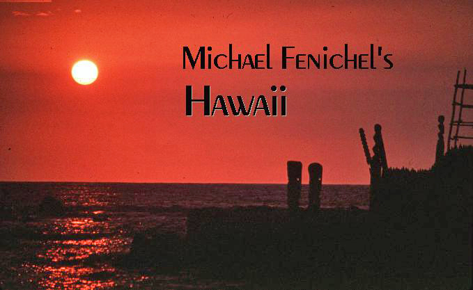 [Sunset at Hawaii's City of Refuge]