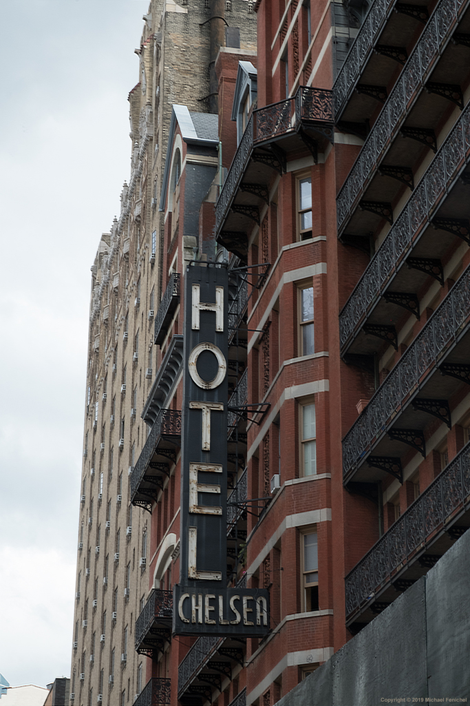 [Chelsea Hotel - Black and White]