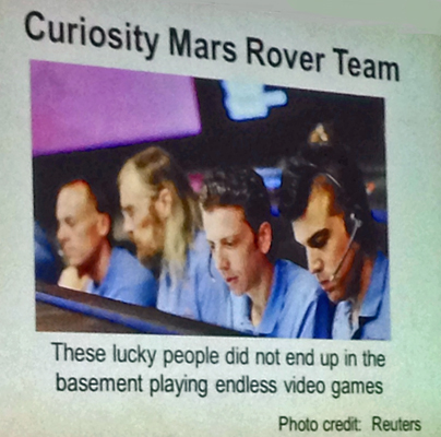 Mars Curiosity Team