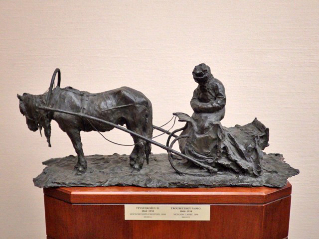 [Horse and Cart - Paolo - Bronze]