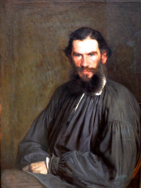 [Portrait of Tolstoy]
