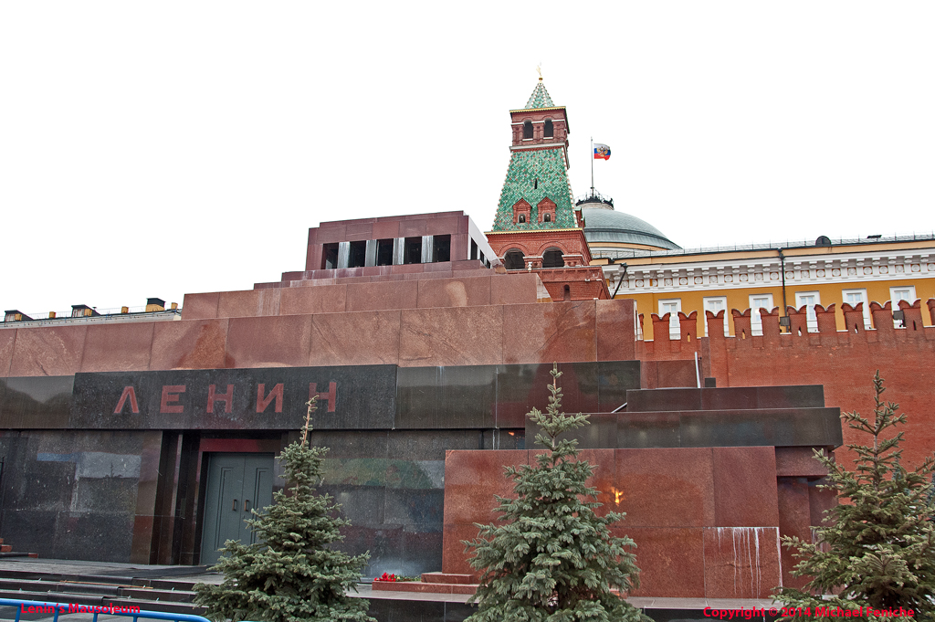 [Lenin's Tomb and Kremlin Wall]