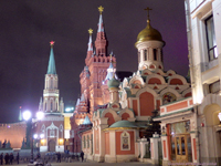 [Red Square at Night]