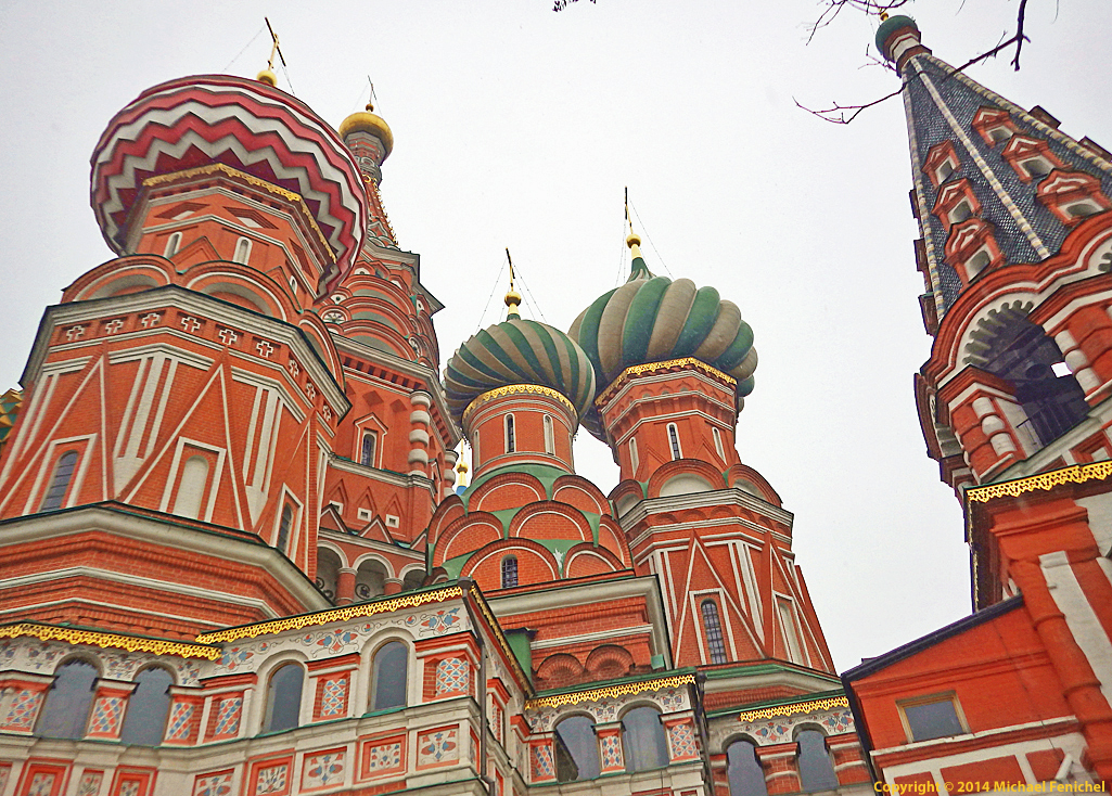 [Saint Basil's Architectural Detail]