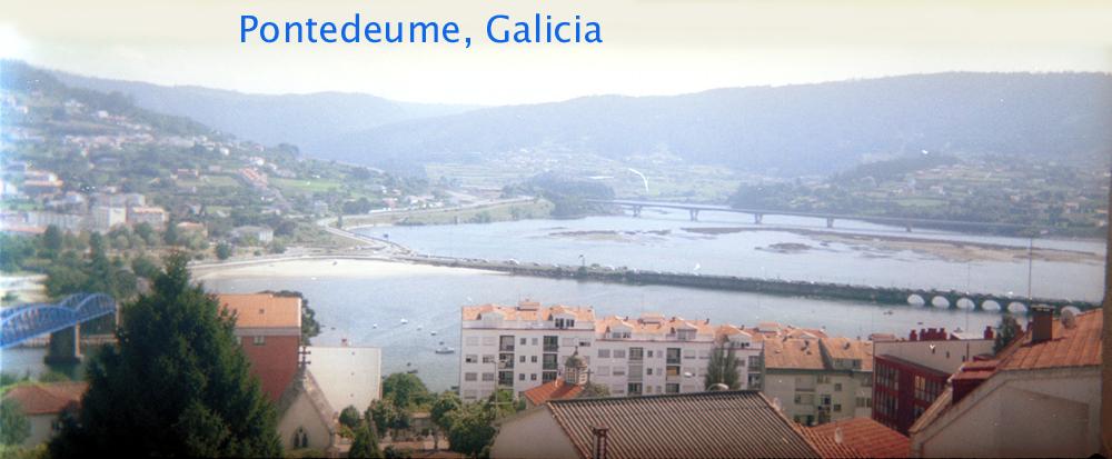 [Pontedeume Panorama, Galicia]