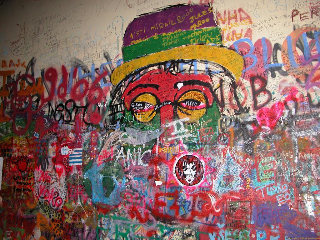 [John Lennon Wall - Prague]