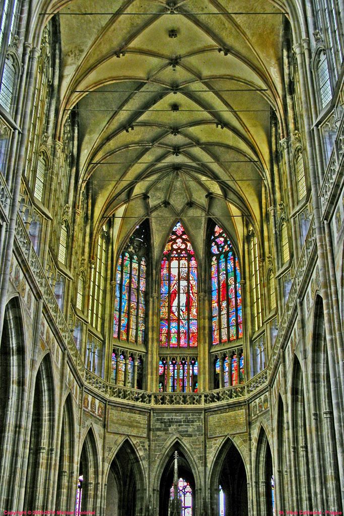 [Inside St. Vitus Cathedral]