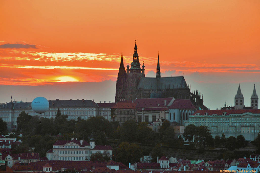 [Hradical Sunset - Prague]