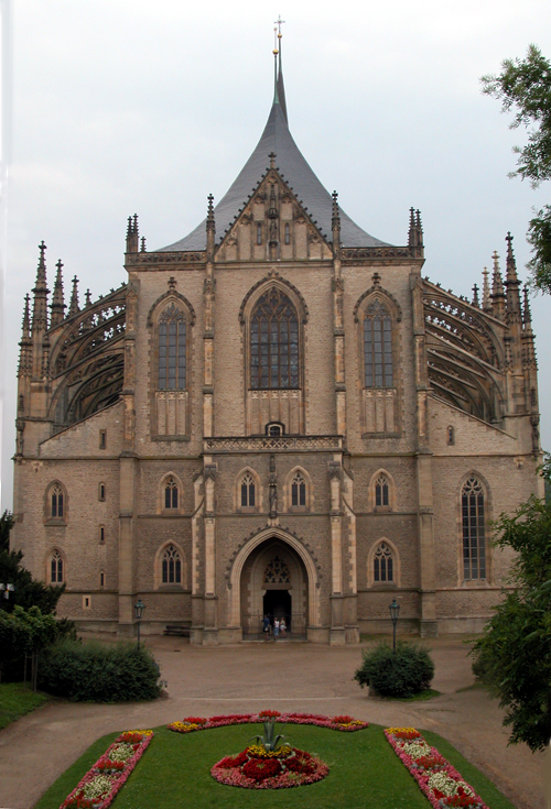 [St.Barbara Church - Kutná Hora]