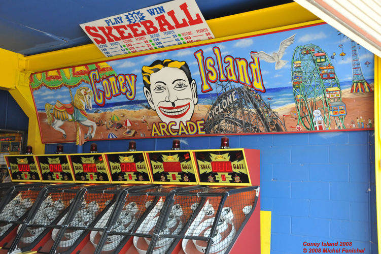 [Skeeball at Coney Island]