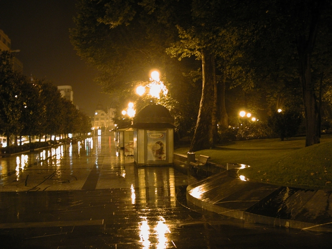 [Campo San Francisco in Rain]