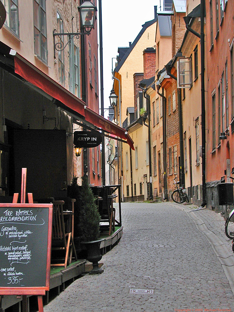 [Gamla Stan - Wide Alley]