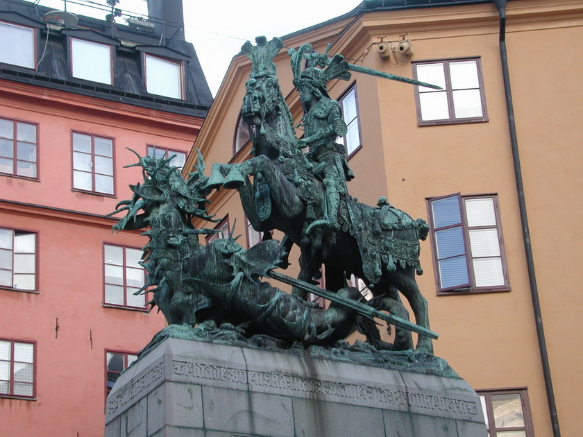 [St. George and the Dragon - Gamla Stan]