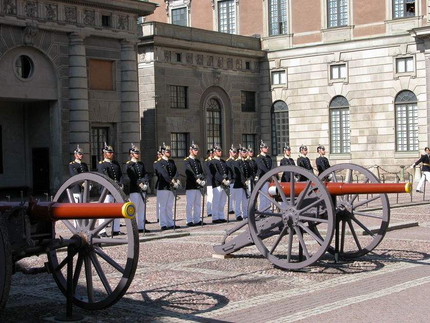 Stockholm: Changing of the Guard