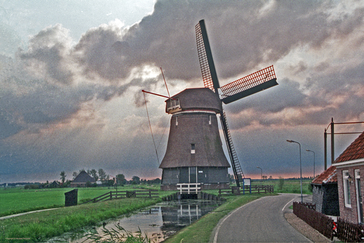[Volendam Windmill]