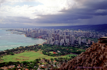 [View from Diamond Head]